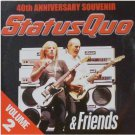 Status Quo & Friends Vol2:40th Anniversary Souvenir(Volume Two promo inc Rockin'All Over The World