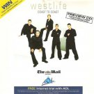 Westlife - Coast To Coast (promo album 'preview CD' sampler)