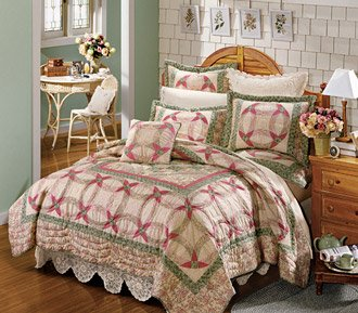 KaTrina Handmade Cotton Quilts with FREE Shams King or Queen