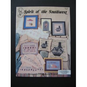 Spirit of the Southwest Counted Cross Stitch Pattern designed by Phyllis Berry Wooten