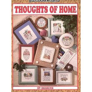 Thoughts of Home Cross Stitch by Good Natured Girls.