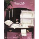 Garden Trellis for Sal-Em Table Linens - Cross Stitch Pattern (Leaflet 53)