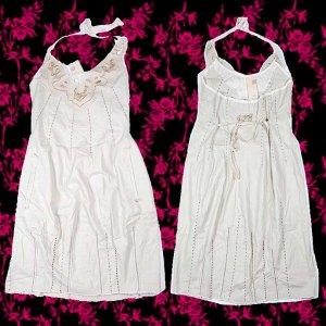 Sale! Marithe+Francois Girbaud Cotton Dress Beige