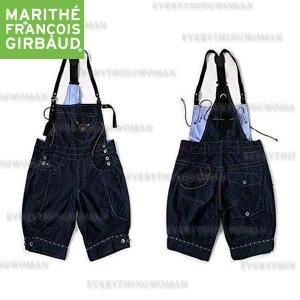 Sale! Marithe+Francois Girbaud Summer Denim belt shorts