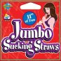 Jumbo Sucking Straw 11 Inch Natural
