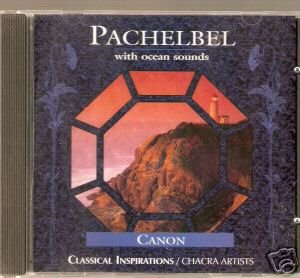 Pachelbel With Ocean Sounds (CD 1988; Meditation) Mint Used - Out of Print