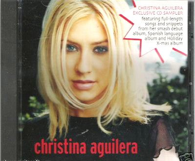 Aguilera, Christina - Fetish [EP] (CD 1999; Pop) Mint Used - Out Of Print