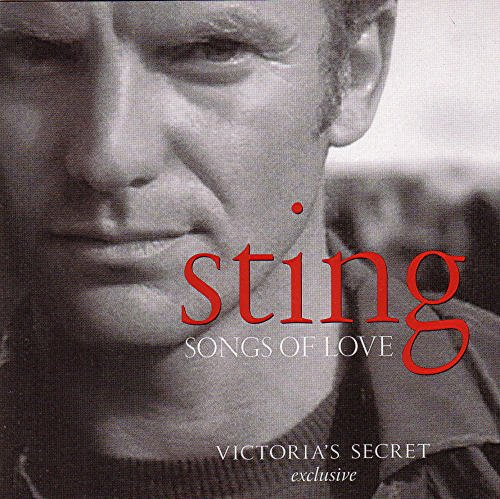 Sting - Songs of Love (CD, 2003) Victoria's Secret Exclusive - Used Near Mint CD