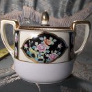 Vintage antique hand painted porcelain Nippon sugar bowl