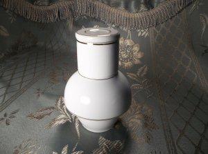 White Porcelain Jar Made in Japan