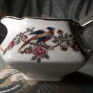 F.C. co Martha Washington antique porcelain hand-painted pheasant gravy boat or creamer