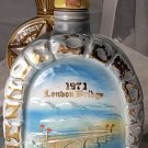 antique vintage London Bridge Jim Beam Whiskey Collectors Bottle bottle 1971