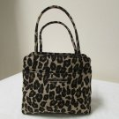 Nine West Leopard Print Small Clutch Evening Bag Purse