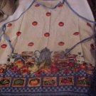 Handmade BBQ Style APRON Cooking with Vegetables