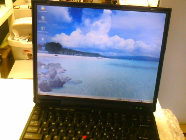 IBM Thinkpad T22 PIII-900, 256MB, 20GB, DVD/CD Player