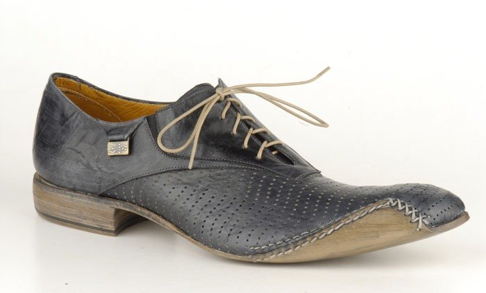 SEBASTIANO MIGLIORE ITALY OXFORDS SUMMER 2007 HANDMADE BLACK 42/9
