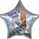HANNA MONTANA  ( SINGING BALLOON / 2 SIDE   ) FOIL HELIUM BALLOON