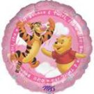 28'' ANAGRAM WINNIE THE POOH & TONY THE TIGER ( IT'S A GIRL ) FOIL BALLOON