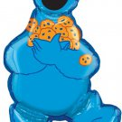 ANAGRAM COOKIE MONSTER ( SUPERSHAPED ) FOIL HELIUM BALLOON