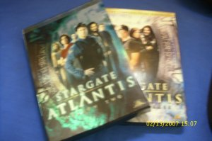 COMPLETE STARGATE ATLANTIS SEASON 1 , 2  10 DISC DVD BOX SET