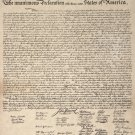 NEW DECLARATION OF INDEPENDENCE -  24 X 30 POSTER