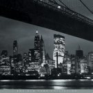 NEW NEW YORK - BRIDGE  36 x 24  POSTER