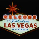 NEW LAS VEGAS - SIGN  35 x 23  POSTER