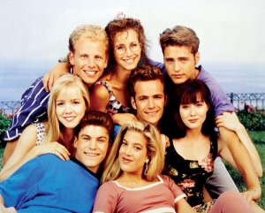 90210 - TV CAST 8 X 10 - GLOSSY PHOTO PRINT