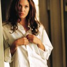 ANGELINA JOLIE -  WHITE SHIRT  8 X 10 - GLOSSY PHOTO PRINT