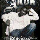 NEW AKON - KONVICT 24 X 36 MUSIC POSTER