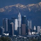 NEW  LOS ANGELES SKYLINE - 24 X 36 POSTER