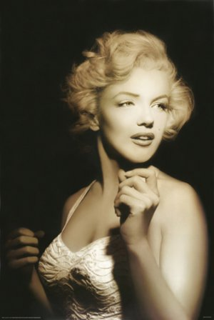 NEW MARILYN - PORTRAIT 24 X 36  POSTER