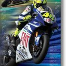 NEW MOTOGP VALENTINO ROSSI -  24 X 36  MOTOR SPORTS BIKE POSTER