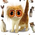 NEW TWISTED WHISKERS CATS  -  24 X 36 ANIMAL POSTER