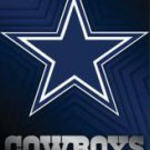 New Dallas Cowboys logo- 22 1/4'' X 34'' Nfl Poster