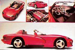 New Viper 36'' X 24'' Car Poster