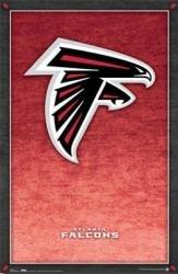 New Atlanta Falcons - logo poster  22 1/4'' X 34'' (NFL) Poster