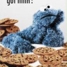 New Sesame Street Cookie Monster (Got Milk?) 24'' X 36'' - Poster