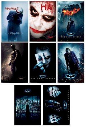 New Batman -The Dark Knight 22 x 34  8 Poster Set
