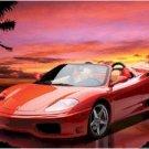 "Ferrari Spider 360 - 24'' x 36""  Car Poster"