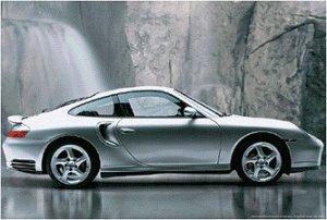 "Porsche 911 - Turbo  24'' x 36""  Car  Poster"