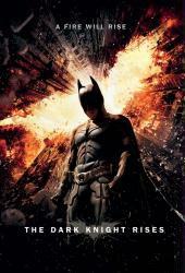Batman The Dark Knight Rises - Fire Logo 22 x 34 Movie Poster
