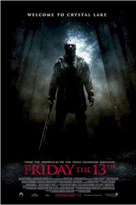 Friday The 13th ( 2009 ) 24'' x 36''  Movie Poster