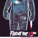 Friday the 13th 22'' x 34''  Movie Poster