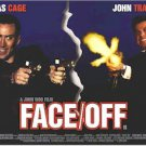 Face Off Horizontal  24'' x 33''  Movie Poster