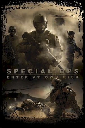 Military - Special Ops Enter At Own Risk  24'' x 36''  Poster