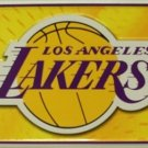 Los Angeles Lakers NBA Embossed Metal Novelty License Plate Tag Sign