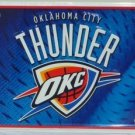 Oklahoma City Thunder NBA Embossed Metal Novelty License Plate Tag Sign