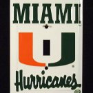 Miami Hurricanes - NCAA Light Switch Covers (single)  Plates