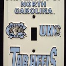 North Carolina Tar Heels - NCAA Light Switch Covers (single)  Plates